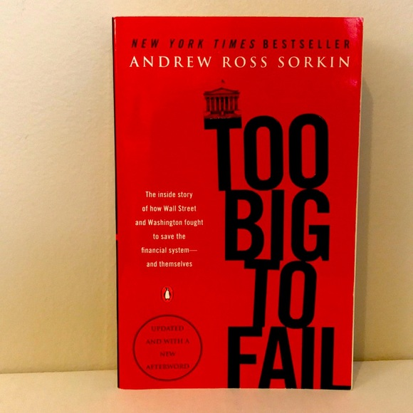 """*NEW* Book """"Too Big To Fail"""" by Andrew Ross Sorkin"""